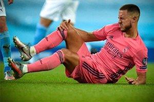 Eden Hazard se vuelve a lesionar y su regreso con el Real Madrid se retrasa
