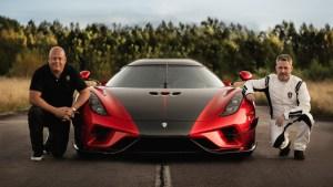 Así rugen los cuatro motores del superdeportivo Koenigsegg Regera al alcanzar los 300 km/h (Video)
