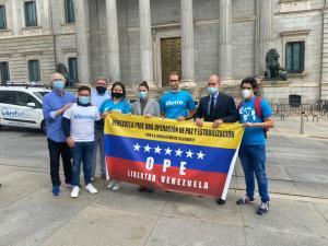 Vente España: Propuestas de VOX y PP empujan en la UE la liberación urgente de Venezuela