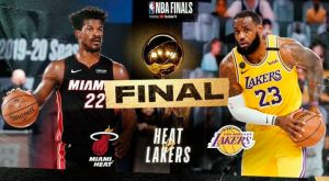 Así saldrán a jugar los Lakers y los Heat, finalistas de la NBA en 2020