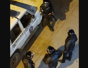 En Imágenes: Esbirros del régimen vigilan las calles de San Carlos por temor al descontento popular