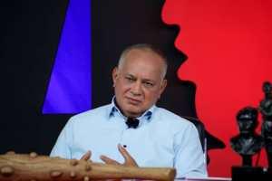 Diosdado se hizo el indignado luego de que candidatos chavistas regalaran mortadela (Video)