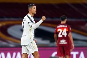 Con doblete de Cristiano, la Juventus rescató un punto ante la Roma