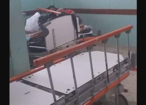 Dantesca escena: Así luce la sala de parto del Hospital Universitario en Guanare (Fotos y Video)