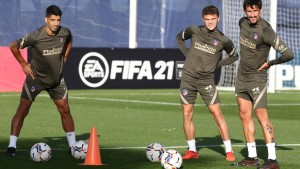EN VIDEO: Así fue el primer entrenamiento de Luis Suárez con el Atlético de Madrid