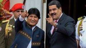 """Evo sí visitó a Maduro y le trajo """"maravilloso"""" obsequio el fin de semana"""