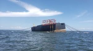Las FOTOS que evidencian lo cerca que está el buque Nabarima de convertirse en un desastre ecológico