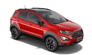 Filtran imágenes de una nueva versión del Ford EcoSport
