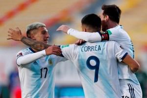 Argentina quiere enderezar su pase a Catar 2022 ante la aguerrida selección de Perú