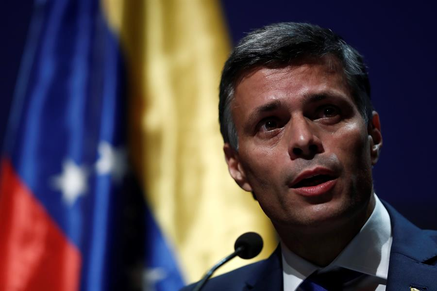 Leopoldo López responde a la ilegal solicitud de extradición: Jamás podrán silenciarnos. Esto solo refuerza nuestra lucha