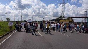 Protestan en Maturín por falta de gas doméstico #15Oct (FOTOS)