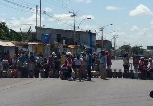 Protestan en Maturín por falta de gas doméstico este #19Oct