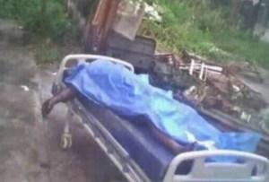 Abandonan cadáver en el patio de un hospital en Portuguesa