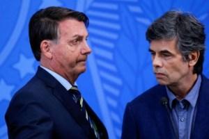 El ministro de Salud de Bolsonaro da positivo para coronavirus