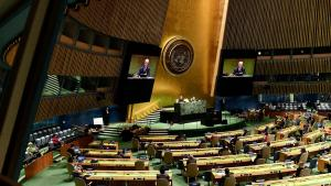 Interim Government delegation had a strong participation in UNGA 2020