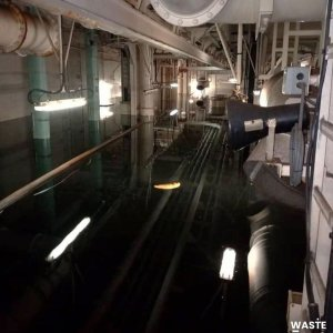 Temen catástrofe ambiental: Revelan FOTOS del Nabarima con salas completamente inundadas