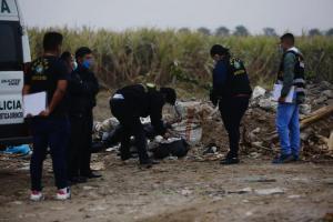 Hallaron cuerpo descuartizado de venezolano en un vertedero en Perú (Fotos)