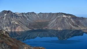 """Captó un objeto desconocido en el """"lago Ness chino"""" donde dicen que vive un monstruo (Video)"""