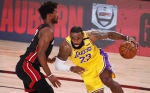 Lakers no dan pie a sorpresa y aplastan al Heat en el primero de la Final