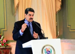 Maduro arregló su rueda de prensa para evitar preguntas que no fueran complacientes