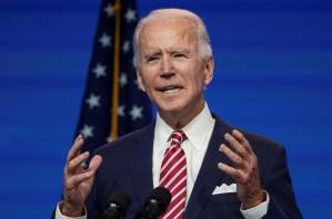 Biden clama por nuevo rescate: Los estadounidenses necesitan ayuda ahora