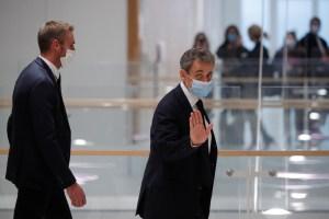 Nicolas Sarkozy, primer expresidente francés condenado a una pena de cárcel