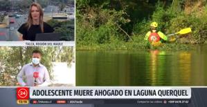 Paseo de venezolano terminó en tragedia: Adolescente murió ahogado en una laguna en Chile