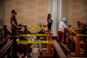 Actividades religiosas en Semana Santa solo tendrán un aforo del 50 por ciento