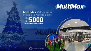 MultiMax Valencia da inicio a la Navidad con más de 5 mil metros cuadrados