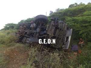 Cuatro militares heridos y un fallecido dejó accidente de tránsito en Anzoátegui