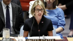 """US Ambassador to the UN: """"We are pressing for free and fair elections"""""""