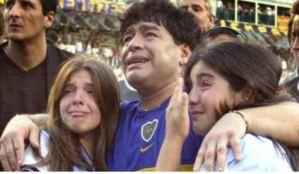 """La """"premonición"""" que tuvo la hija de Maradona minutos antes de su muerte"""