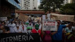 Funds seized in U.S. help Venezuela health workers survive crisis