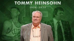 Falleció Tom Heinsohn miembro clave de la dinastía de los Celtics de Boston en la década de 1960