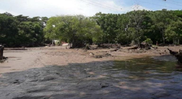 Siete comunidades de la Sierra de Perijá incomunicadas tras fuertes lluvias