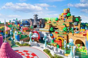 En IMÁGENES: Así será el espectacular parque temático de Súper Mario en Japón