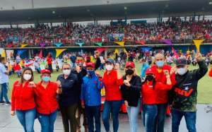 El chavismo comenzó su campaña al show electoral sin normas de bioseguridad