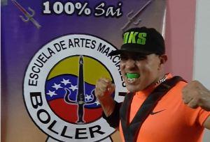 Alexander Bollero y su trayectoria cargada de éxitos en el sistema SAI de Artes Marciales (Fotos y videos)