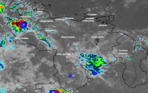 El estado del tiempo en Venezuela este martes #13Abr, según el Inameh