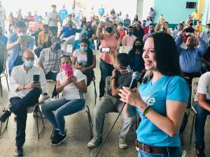 María Corina Machado: Este país quebró con el socialismo, vamos por una Venezuela de mérito y trabajo