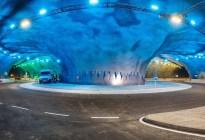 Construyeron bajo el océano Atlántico la primera rotonda submarina del mundo (Fotos)