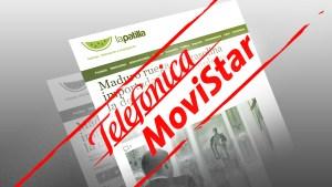 Telefónica Movistar bloquea a LaPatilla ¿Hasta cuándo?