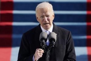 """Joe Biden, nuevo presidente de los EEUU, resaltó que """"hay que reparar mucho, hay que sanar mucho"""""""