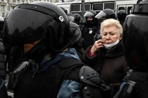 Más de 2.000 detenidos en las protestas opositoras en Rusia