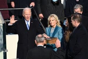 Joe Biden jura el cargo y se convierte en el presidente número 46 de EEUU