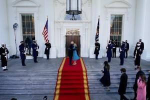En Imágenes: La histórica llegada de Biden y Harris a la Casa Blanca este 20 de enero