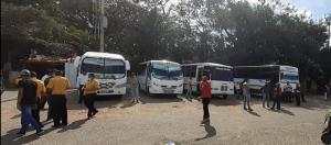 Nadie entra y nadie sale: Suspendido el transporte público a hacia la frontera en San Antonio del Táchira