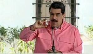 """""""Malditos celos"""": Maduro puso el grito en el cielo por críticas contra las """"gotitas milagrosas"""""""