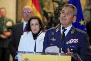Cesa el jefe del Estado Mayor español por saltarse protocolo para vacunarse