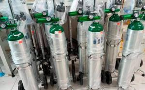 Miles de cilindros con oxígeno fueron enviados por la dictadura chavista desde Sidor con destino a Brasil